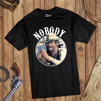 Nobody - T-Shirt (schwarz)...