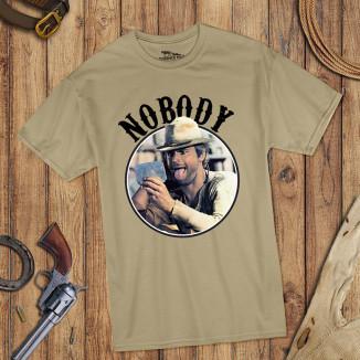 Nobody - T-Shirt (sand) -...
