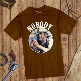 Nobody - T-Shirt (braun) -...