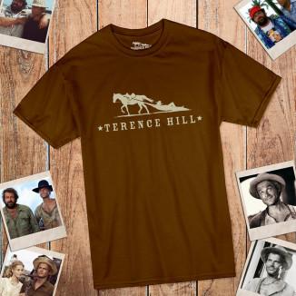 Logo - T-Shirt (braun) -...