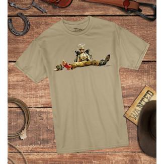 Nobody sitzt - T-Shirt...