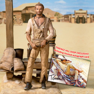 Terence Hill Statue 1970 im...