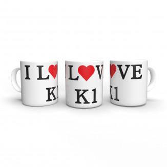I love K1 - Mug - Terence...