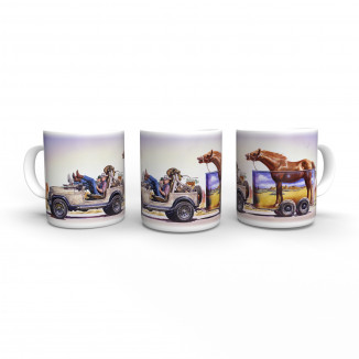 Renegade Jeep - Tasse -...