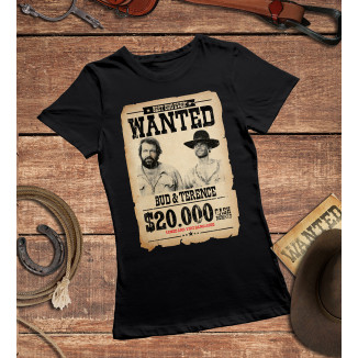Women - Wanted $20.000 (black)