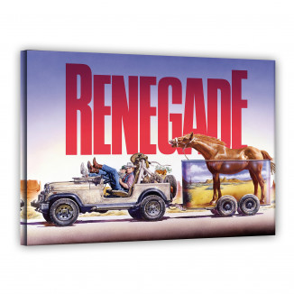 Leinwand - Jeep - Renegade...