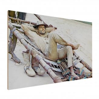 Holzdruck - Der müde Joe -...