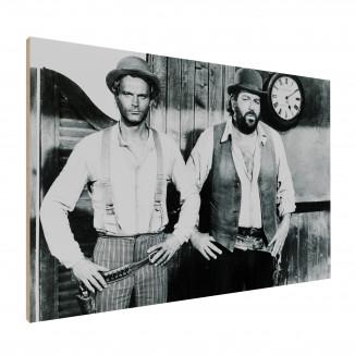 Wood print - Trinity and...