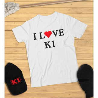 Kinder - I LOVE K1 (weiss)