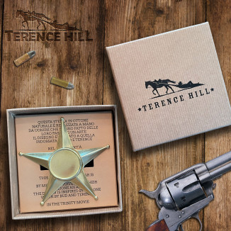 Terence Hill Sheriff Star -...