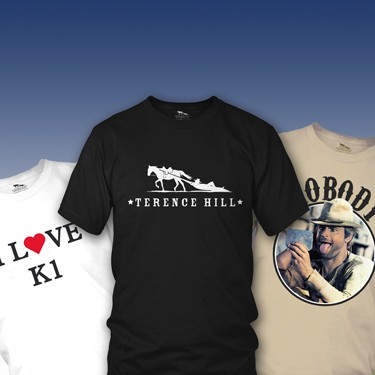Terence Hill T-Shirt Collection